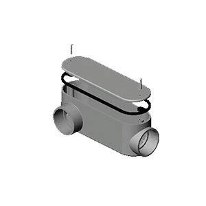 Approved Vendor B01134 Type LR Conduit Body 3//4 in Hub