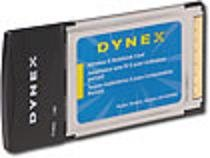 DYNEX PCMCIA Wireless 802.11g G Notebook Card