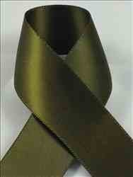 Schiff Ribbons 2244-9 100-Yard Polyester Double Face Satin Ribbon, 1-1/2-Inch, Olive