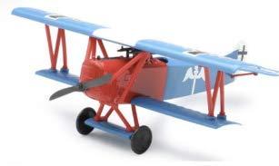 WWI Classic plain model Fokker D.VII, easy kit