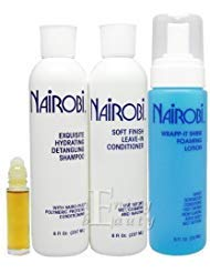 Nairobi Exquisite Hydrating Detangling Shampoo and Conditioner Set