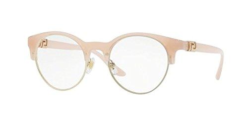 Versace Women's VE3233B Eyeglasses Opal Pink - Eyeglasses Versace