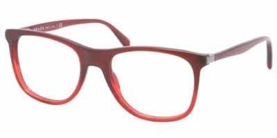 Prada PR13PV Eyeglasses-MAX/1O1 Bordaux Grad ()