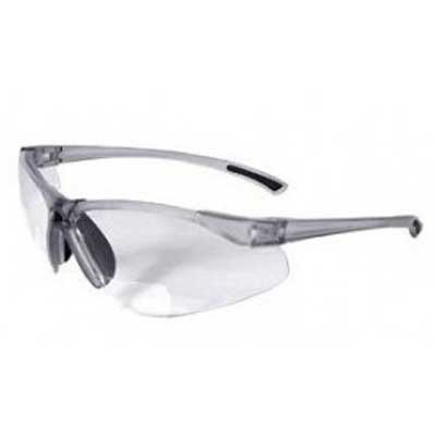 Radians C2-125 Bi-Focal Reading Safety Glasses with Clear 2.5 - Reading The Glasses Shop