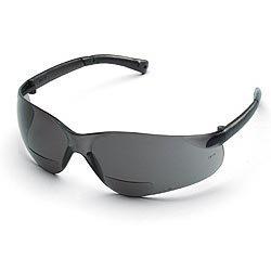 Crews BearKat Bifocal Safety Glasses - Gray Lens 1.5 - Sunglasses Bearkat