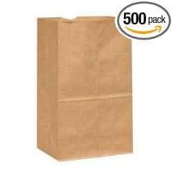 420 # Bolsa corta Duro, papel kraft reciclado, 8.5 x 5.0 x ...