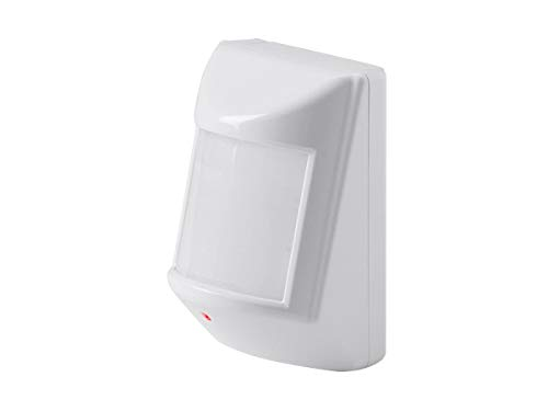 Monoprice Z-Wave Plus Pir Motion Detector with Temperature Sensor, No Logo | Easy to Install, Passive Infrared Sensor