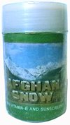 Afghan Snow Skin Cream by Afghan