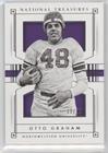 Otto Single (Otto Graham #11/99 (Football Card) 2016 Panini National Treasures Collegiate - [Base])