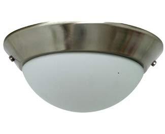 Light Bowl Kits Craftmade - Craftmade ELKD-12BNK Bowl Ceiling Fan Light Kit, 2-Light, Brushed Polished Nickel