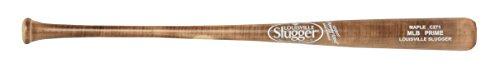 Amish Maple Wood Baseball Bat (Louisville Slugger WBVM271-FL MLB Prime Maple C271 High Gloss Flame Baseball Bat, 34-Inch )