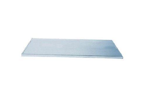 Justrite 29941 SpillSlope Galvanized Steel Shelf, 19-5/8'' Width x 29'' Depth, For 54 Gallon Deep Slimline Safety Cabinet