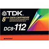 TDK 2.5/5.0GB 8MM 112M Cart 367Ft for Helical Scan Drives