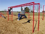 Sport Play 511-109 Challenge Ladder - Galvanized by Sports Play Equipment