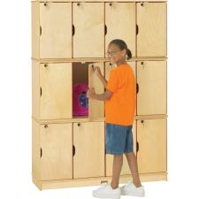 Jonti-Craft Triple Stack 12-Sectn Student Lockers