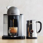Nespresso VertuoLine Coffee and Espresso Maker with Aeroccino Plus Milk Frother, Black made by Nespresso