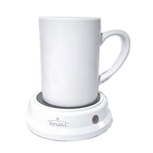 RIVAL White Beverage Warmer w/ Eight Ounce Mug BW8M-WH