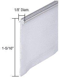 Gray Shower Door Vinyl Sweep