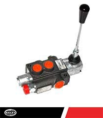 CHIEF G Series P40 Directional Control Valve: 1 Spool, 3-pos. Spring Center, 10 GPM, 3625 PSI with SAE #8 Work and SAE #10 Outlet Ports, 1500-3625 PSI Relief Setting, 220906