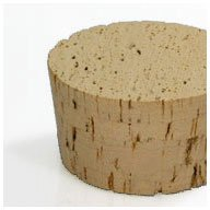 WIDGETCO Size 38 Large Cork Stoppers, Standard
