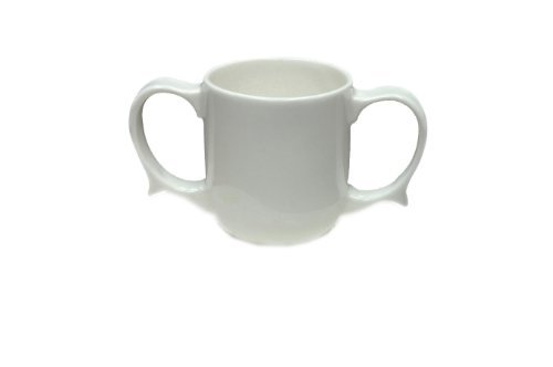 NRS Healthcare Wade Dignity White Two-Handled Mug by NRS Healthcare