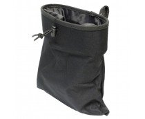 Lancer Tactical Adjustable/Foldable MOLLE Dump Pouch (Large) (Black)