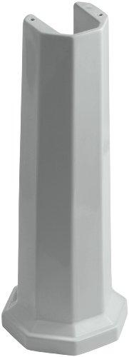 hryn Bathroom Sink Pedestal, Ice Grey ()