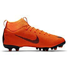 Nike Junior Superfly 6 Academy GS MG Football Boots AH7337 Soccer Cleats (UK 3 US 3.5Y EU 35.5, Total Orange Black 810)
