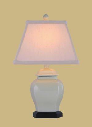 - CREAM CELADON JAR LAMP
