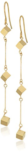 14k Yellow Gold Dice - 8