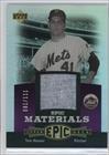 Tom Seaver #81/111 (Baseball Card) 2006 Upper Deck Epic - Materials - Dark Purple #EM-TS2 - Epic Materials