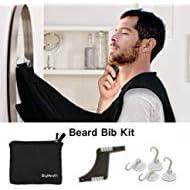 Present For Grandad Dad Husband Boyfriend Men Beard Apron with Suction Cups Gift