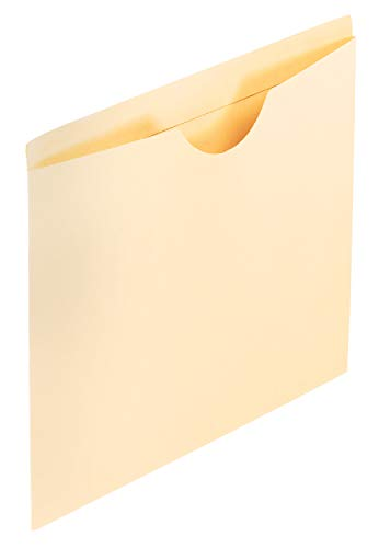 Pendaflex 23900 Double-Ply Tabbed File Jackets, Legal Size, Manila, 100 per Box