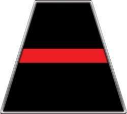 Fire Helmet TETRAHEDRONS Thin Red Line - Set of 8 - Firefighter Fire Helmet