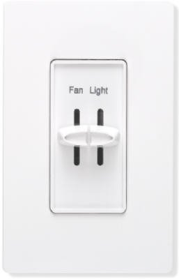 Fan and Light Slide Dimmer Switch - - Amazon com