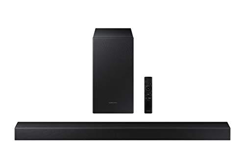 Samsung Barra de Sonido HW-T450 -,Sonido 200W, 2.1Ch, Subwoofer Inalámbrico, Dolby Digital 2.1, Modo Juego, Bluetooth 4…