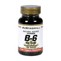VIT B-6 TABS 100 MG WMILL 100