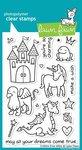 Critters Ever After Clear Stamp Set (Lawn Fawn)