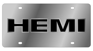 Eurosport Daytona 1466-1 Stainless Steel Hemi License Plate