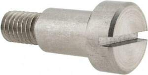 JumpingBolt 1/2'' Shoulder Diam x 3/4'' Shoulder Length, 3/8-16 UNC, Slotted Pr. Material May Have Surface Scratches