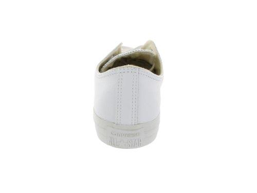 Converse Ctas Mono Ox Cuir - Zapatillas unisex White Open