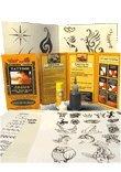 20ml Jagua Gel -3 metal detailing tips -120+designs-transfer paper