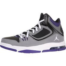 79264ea9918 Jordan Flight 23 RST White/Black, Grey, Purple Mens Fashion Sneakers 512234-