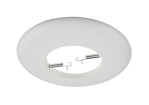 NICOR Lighting 6 inch White Smooth Open Trim Designed for 6 inch Housings (17508WH)
