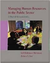 Managing Personnel in the Public Sector