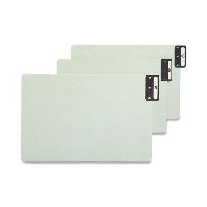 Smead End Tab Guides, Alpha, Vertical Metal Tabs, Pressboard, Legal, 25/Set ()