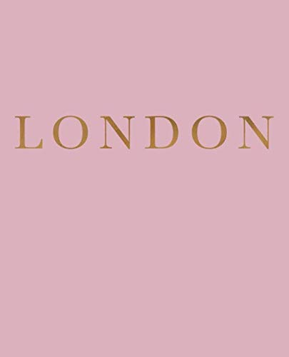 London: A decorative book for coffee tables, bookshelves and interior design styling | Stack deco books together to create a custom look (Cities of the World in Blush)