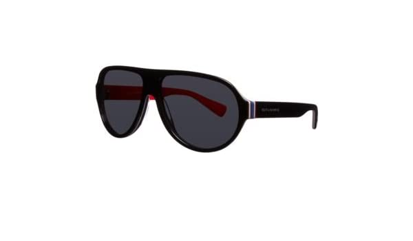 f83018012657 Dolce & Gabbana Sunglasses DG 4204 / Frame: Black/Multilayer/Red Lens:  Grey: Amazon.ca: Clothing & Accessories