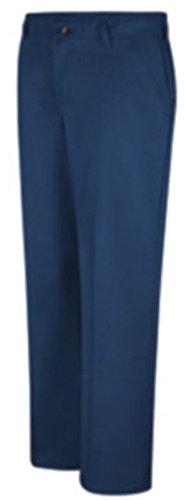 Red Kap Plain Front Cotton Pant, Women, PC45NV, 0434U