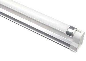 Set bestehend aus LED Röhrenhalter und LED Leuchtröhre 60cm lang, warmweiss